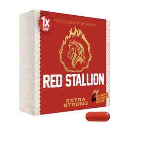 Gold Max Red Stallion Extra Strong - 1 kapsel-Erektionshjälp