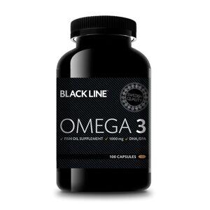 Budo & Fitness Black Line Omega 3 100 kapslar