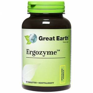 Great Earth Ergozyme 90 tabletter