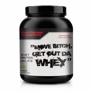 Black Madness Move Bitch 100% Whey
