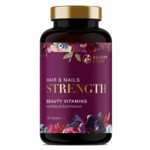 Beauty Story Hair & Nails Strength 120 st Vitaminer för håret