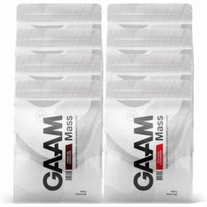 GAAM Nutrition 8 x GAAM Nutrition 100% MASS Premium, 1,33 kg