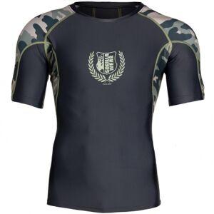 Gorilla Wear Cypress Rashguard Short Sleeve, Army Green Camo