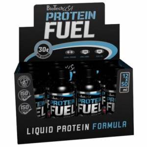 BioTechUSA 12 x BioTechUSA Protein Fuel, 50 ml, Orange