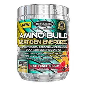Muscletech Amino Build Next Gen Energized, 30 serv