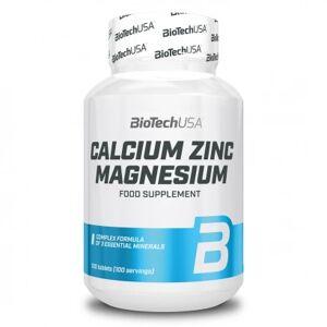 BioTechUSA Calcium Zinc Magnesium, 100 caps
