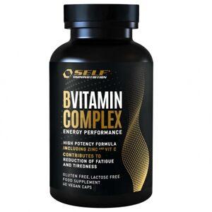 Self Omninutrition B-Complex Vitamin C + Zinc, 60 caps