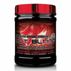 Scitec Nutrition Hot Blood 3.0, 820 g