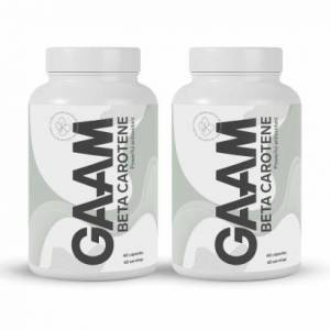 GAAM Nutrition Health Series Betakaroten, 120 caps