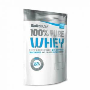 BioTechUSA 100% Pure Whey, 1 kg