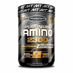 Muscletech 100% Platinum Amino 2300, 320 tabs
