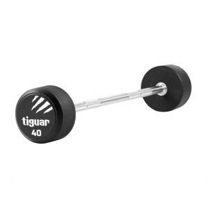 Tiguar Straight PU Barbell, 40 kg