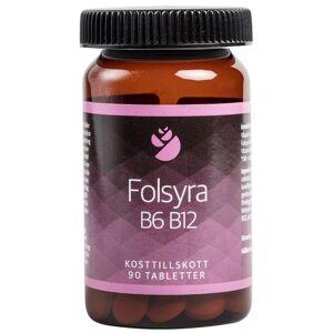 Folsyra B6 B12 90 tabl