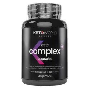 Keto Complex Kapslar - Optimalt tillskott för Keto dieten - Energigivande och termogena ingredienser - Naturligt energidrivande för att uppnå ketos