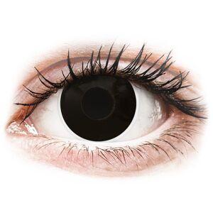 ColourVUE Crazy Lens - BlackOut - uden styrke
