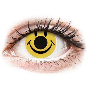 ColourVUE Crazy Lens - Smiley - uden styrke
