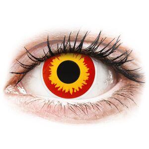 ColourVUE Crazy Lens - Wildfire - uden styrke