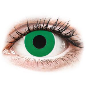 CRAZY LENS - Emerald Green - endagslinser uden styrke
