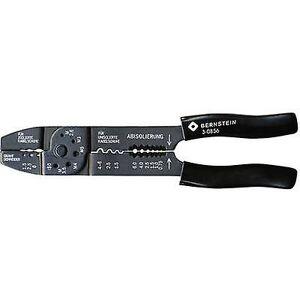 Bernstein 3-0856 Crimper isolert kabel kabelsko, ikke-isolert kabel kabelsko 1,5 opptil 6 mm²
