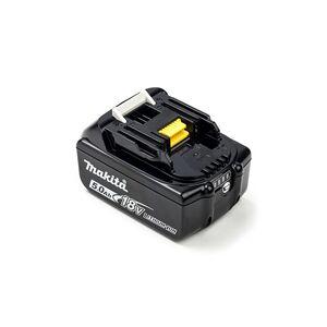 Makita Makita DUR182URME batteri (5000 mAh, Sort, Originalt)