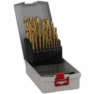 Bosch HSS-TiN Metallborsett 25 deler