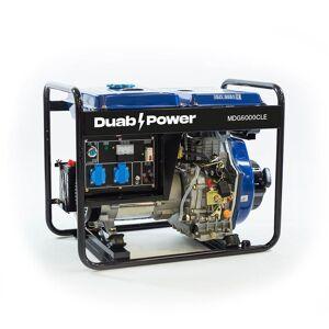Duab-Power Elverk Mdg6000cle 1-Fas Diesel