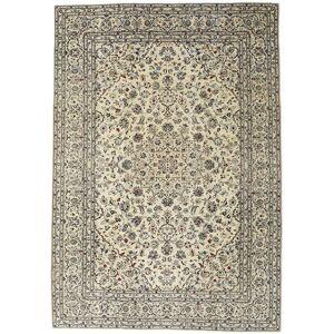 Håndknyttet. Oprindelse: Persia / Iran Håndknyttet Tæppe Keshan Patina 240X345 Beige/Mørk Beige (Uld, Persien/Iran)
