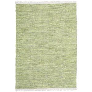 RugVista Lysgrøn Tæppe Diamond Wool 160X230 Håndvævet Moderne Ensfarvet Uld