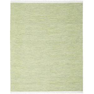 RugVista 240X300 Moderne Tæppe Diamond Wool Håndvævet Ensfarvet Uld Lysgrøn