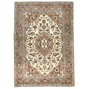Håndknyttet. Oprindelse: Persia / Iran Ægte Tæppe Keshan 105X150 (Uld, Persien/Iran)