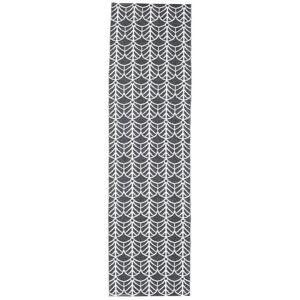 RugVista 70X250 Käytävämatto Arch Moderni Tummanharmaa/Violetti