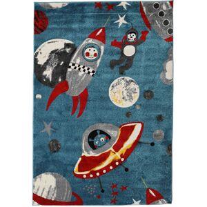 RugVista Astronauts Matto 160X230 Tummansininen