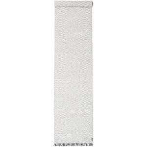 RugVista 70X350 Yksivärinen Matto Comfort Käytävämatto Vaaleanharmaa/Valkoinen/Creme