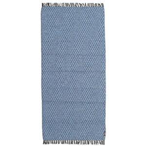 RugVista Comfort Matto 70X150 Yksivärinen Vaaleansininen/Sininen