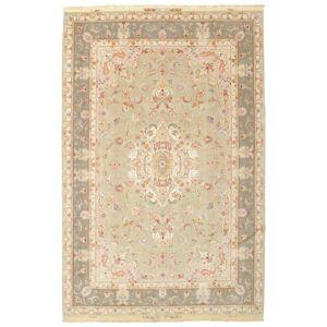 Tabriz 60 Raj silkerenning  teppe 200x303 Persisk Teppe
