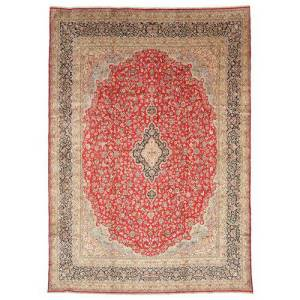 Kerman  teppe 346x497 Orientalsk Teppe