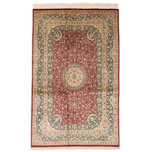 Ghom silke signert: Razavi  teppe 125x203 Persisk Teppe