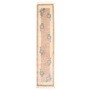 Kina silke 120 Line  teppe 70x335 Moderne, Løpere Teppe