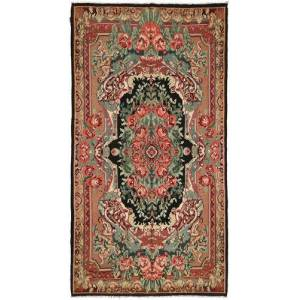 Rosekelim  teppe 216x396 Orientalsk Teppe