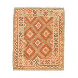 Kelim Afghan Old style  teppe 98x118 Orientalsk Teppe