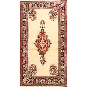 Ghom Kork / silke  teppe 74x140 Orientalsk Teppe