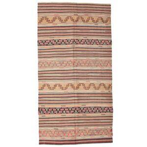 Kelim halvt antikke Tyrkiske  teppe 160x310 Orientalsk Teppe