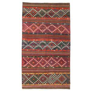 Kelim halvt antikke Tyrkiske  teppe 168x300 Orientalsk Teppe