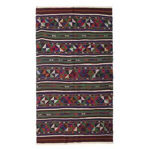 Kelim halvt antikke Tyrkiske  teppe 140x250 Orientalsk Teppe
