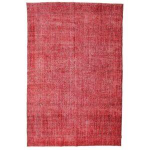 Håndknyttet. Opphav: Turkey Colored Vintage Teppe 215X325 Ekte Moderne Håndknyttet Rust/Rød (Ull, Tyrkia)