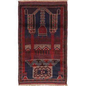 Beluch  teppe 83x144 Orientalsk Teppe
