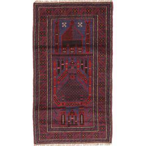 Beluch  teppe 83x148 Orientalsk Teppe