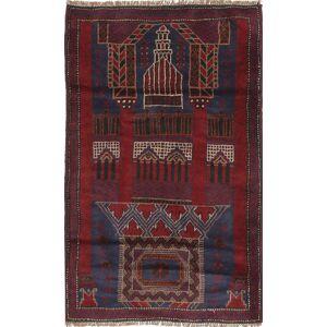 Beluch  teppe 83x140 Orientalsk Teppe