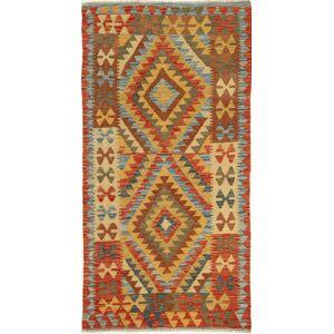 Kelim Afghan Old style  teppe 98x194 Orientalsk Teppe