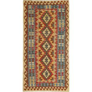 Kelim Afghan Old style  teppe 98x192 Orientalsk Teppe